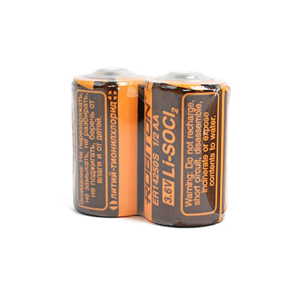Купить Элемент питания robiton er14250-s-sr2 высокотемпературный 1/2 aa sr2 12402
