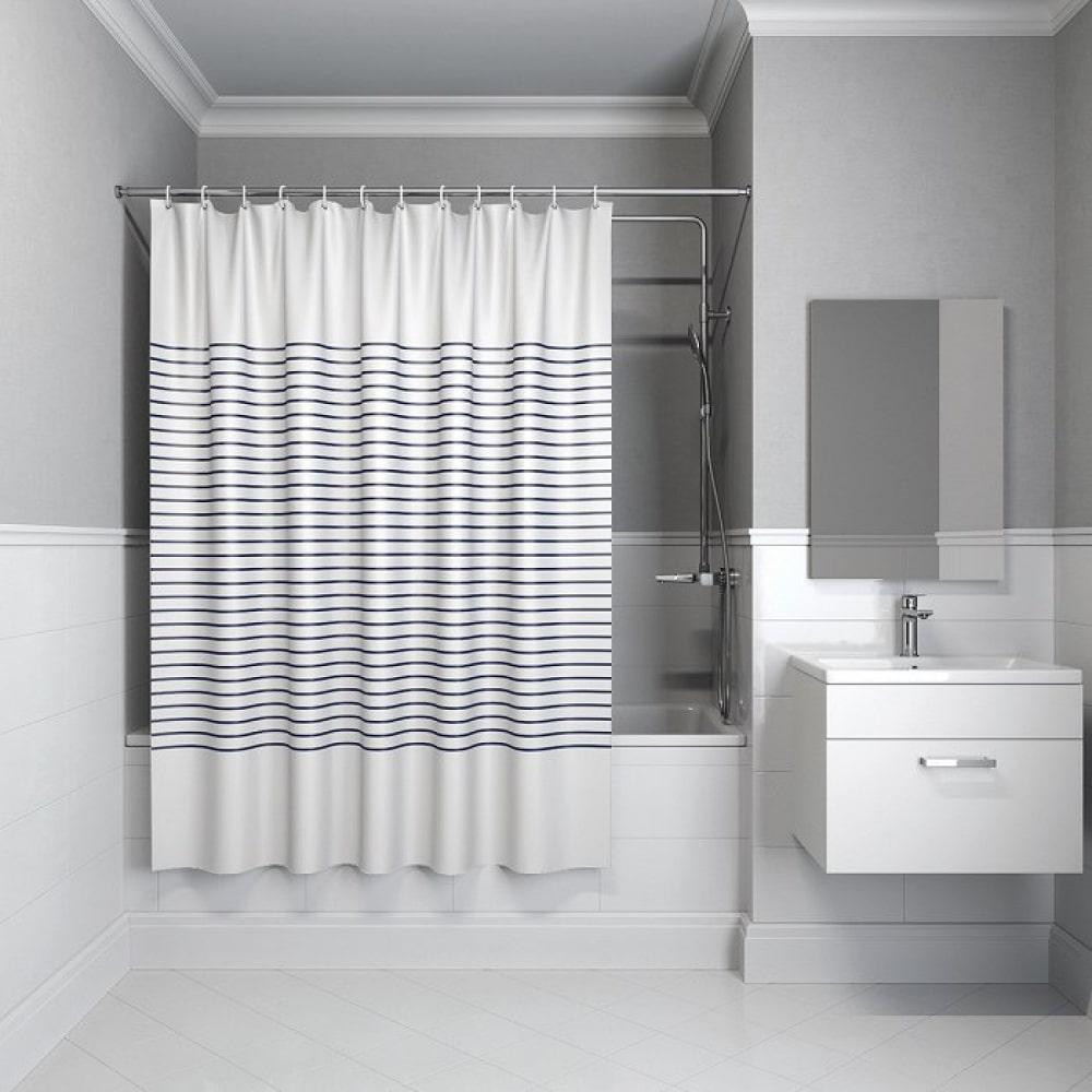 Штора для ванной комнаты 200*240см, полиэстер iddis,
