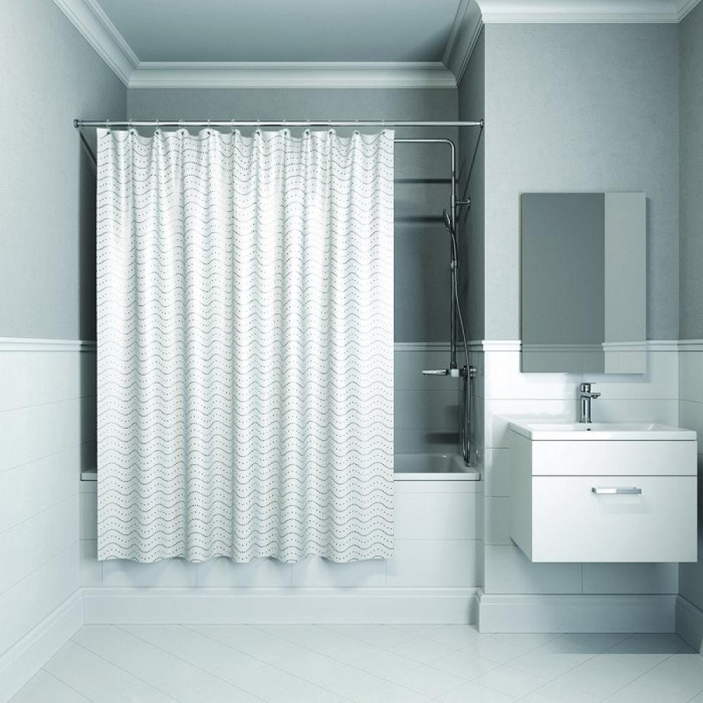 Штора для ванной комнаты iddis, 200*180см, полиэстер, b34p218i11  - купить со скидкой