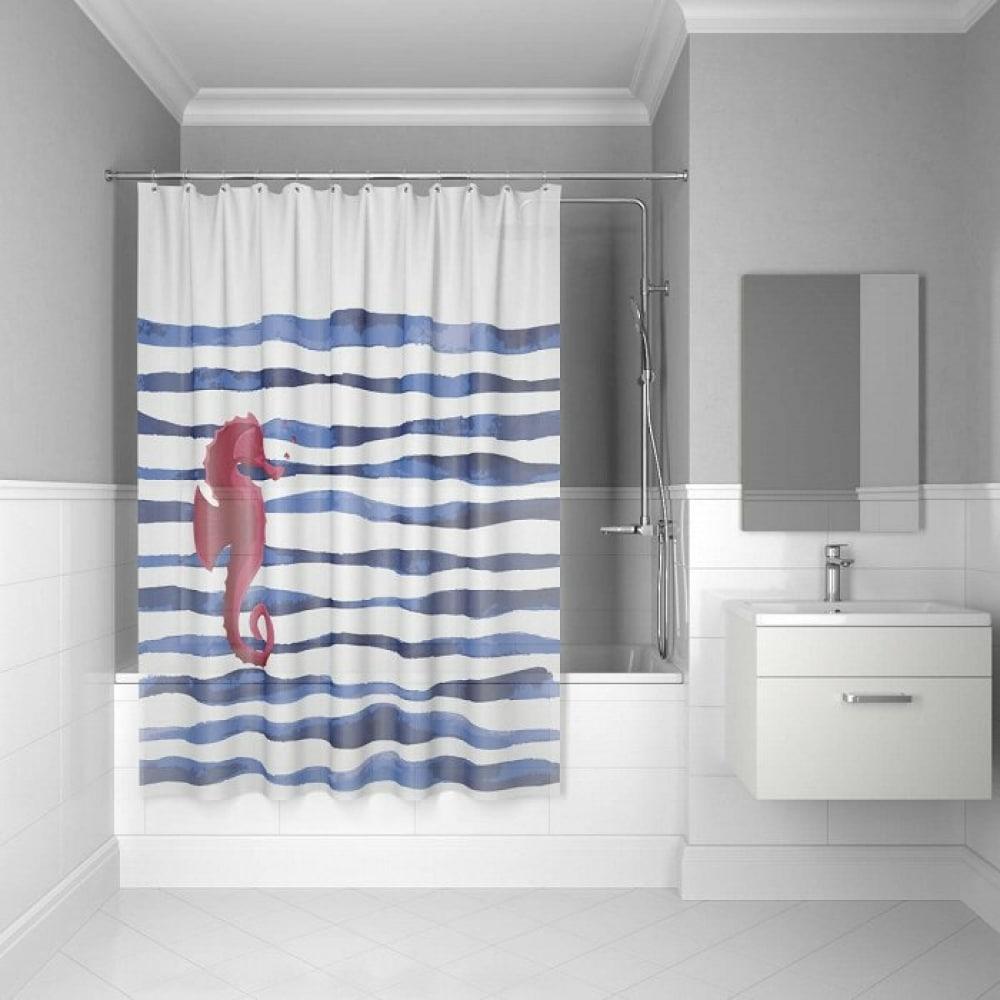 Штора для ванной комнаты iddis, 180*180см, peva,