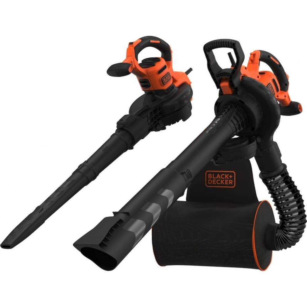 Купить Садовый воздуходув/пылесос black&decker backpack blower vac beblv300