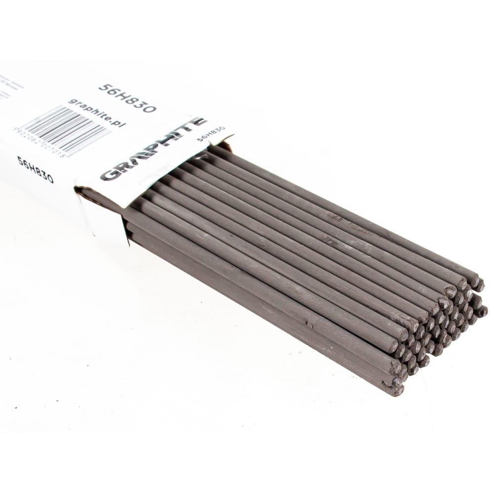 Электроды с рутиловым покрытием (2.5х350 мм; 1 кг) graphite 56h830