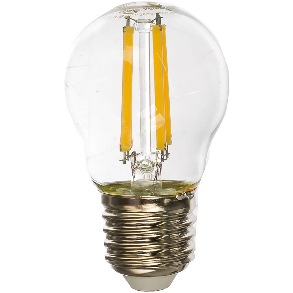 Светодиодная лампа camelion led12-g45-fl/830/e27 12вт 220в 13714
