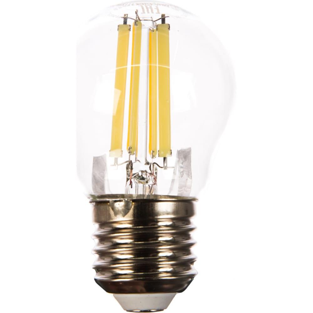 Светодиодная лампа camelion led12-g45-fl/845/e27 12вт 220в 13715