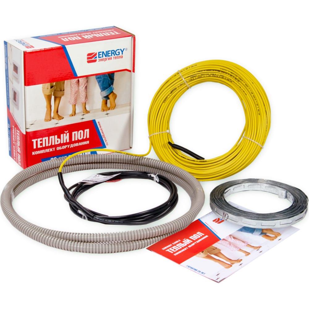 Теплый пол energy кабель 680 вт