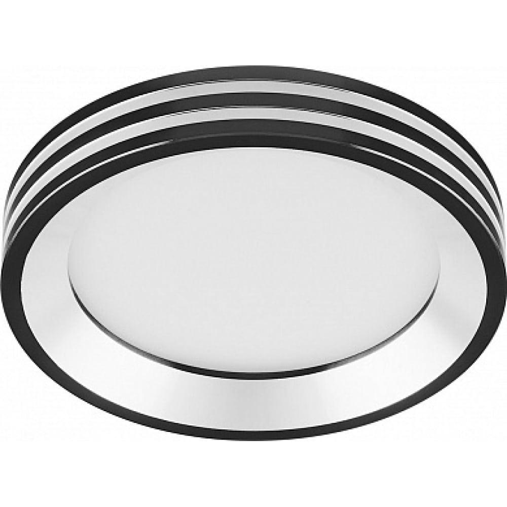 Купить Встраиваемый светильник feron светодиод 7w, 560 lm, 4000к, черный, al612 28912