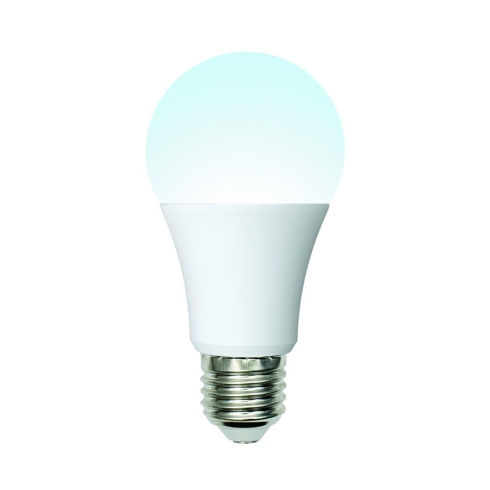 Светодиодная лампа uniel led-a60-10w/nw/e27/fr/mb plm11wh форма а, матовая ul-00002372