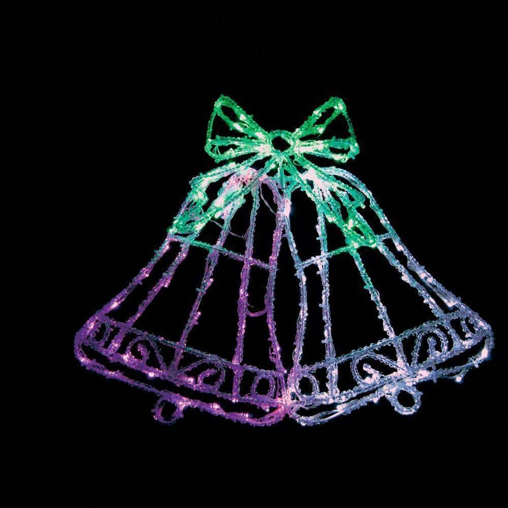 Световая фигура feron lt012 белый+зеленый+розовый 26710