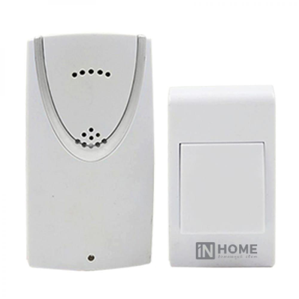 Купить Беспроводной звонок in home зб-1 32 мелодии 120м белый 4690612013299