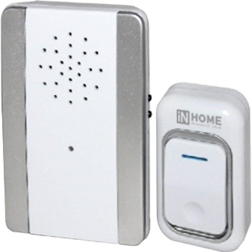 Беспроводной звонок in home зб-9 25 мелодий с регул. звука 4690612013374