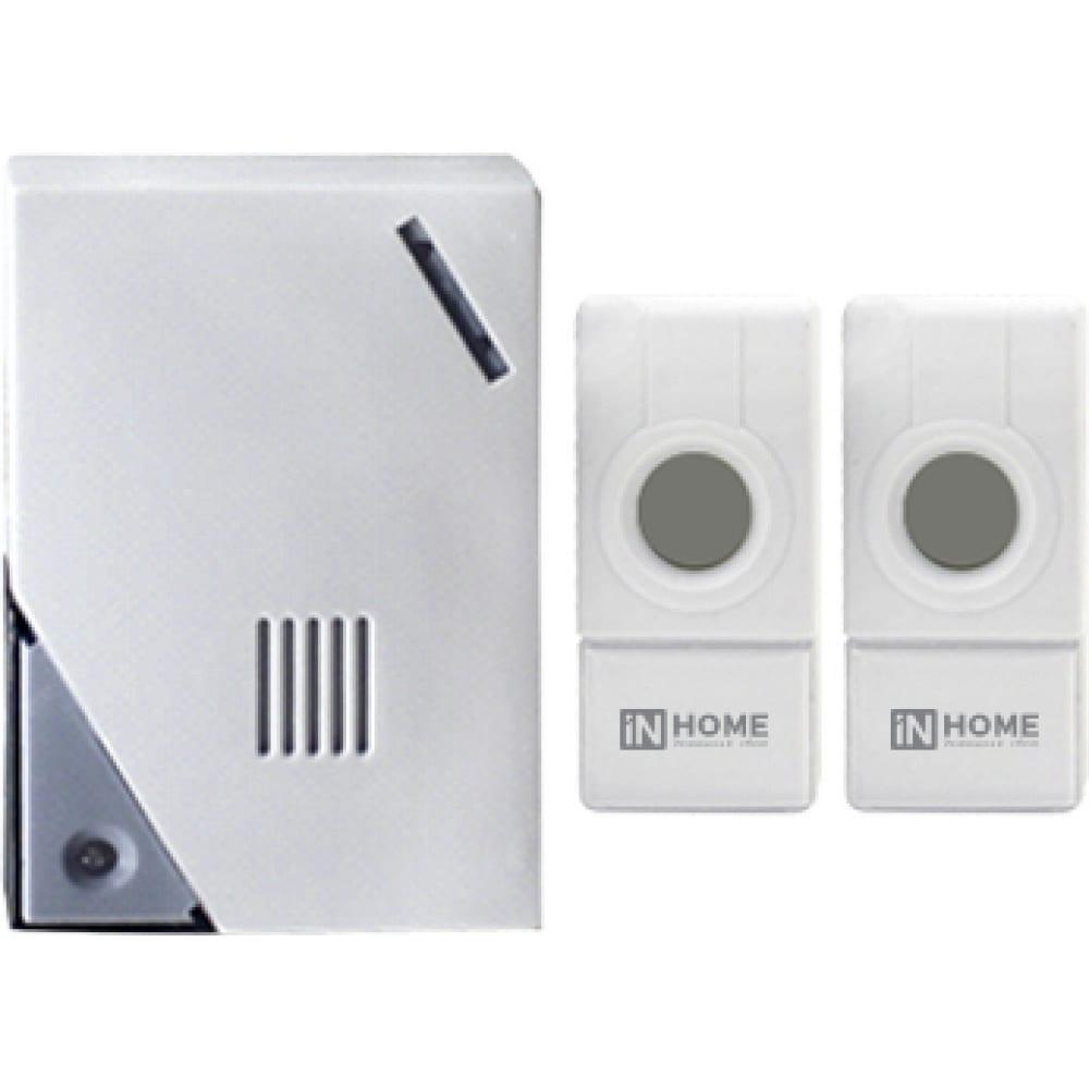 Купить Беспроводной звонок in home збн-5 32 мелодии 120м ip44 бело-серый 4690612013336