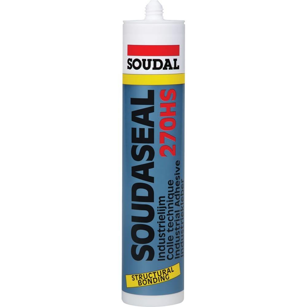 Соудасил soudal 270 hс черный 290 мл 111029  - купить со скидкой