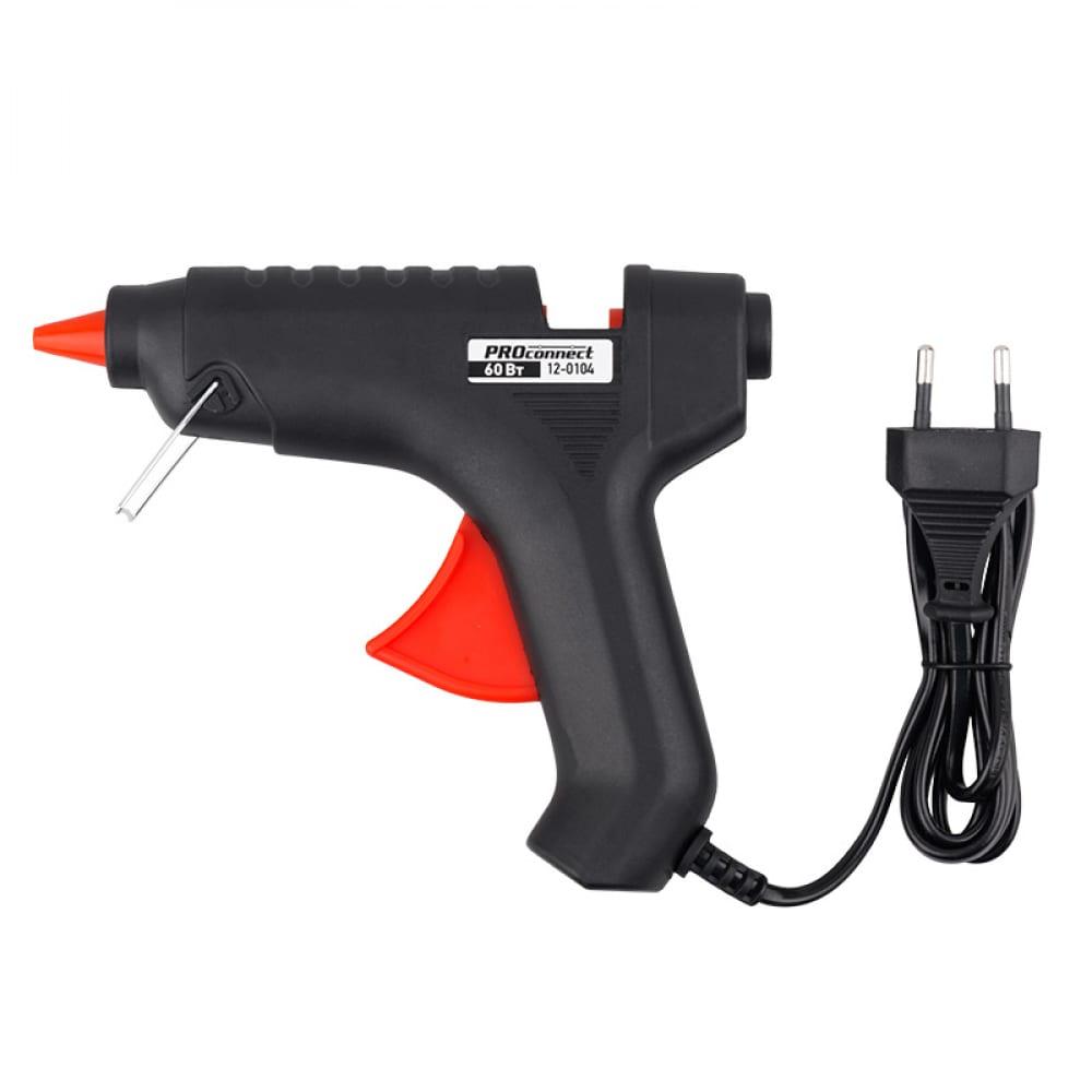 Клеевой пистолет proconnect 60вт 12-0104