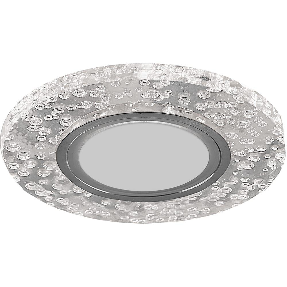 Купить Встраиваемый потолочный светильник feron со светодиод подсветкой, прозрач, cd953 32539
