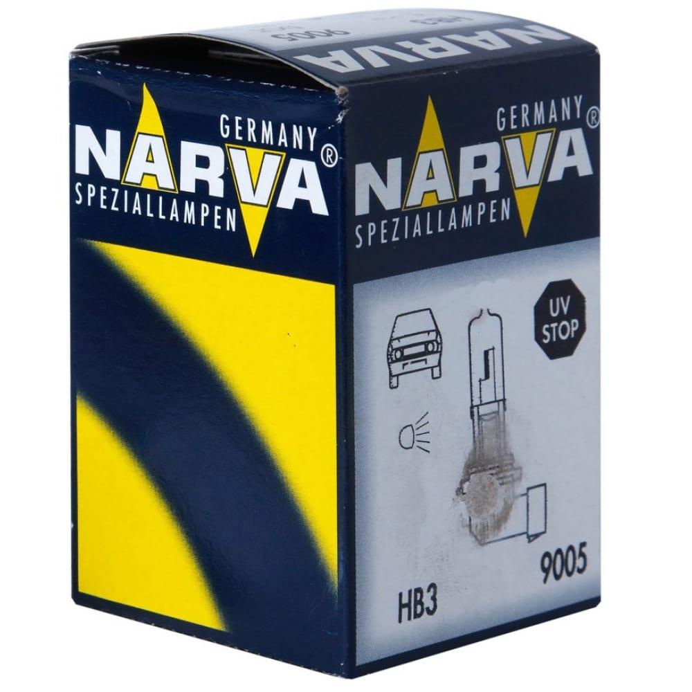 Автолампа narva hb3 9005 60 p20d