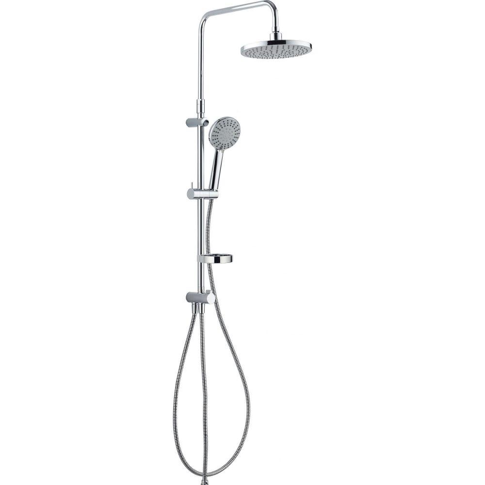 Купить Душевая система damixa akita, верх. душ d 220 мм, ручн. душ d 120 мм, 409110064