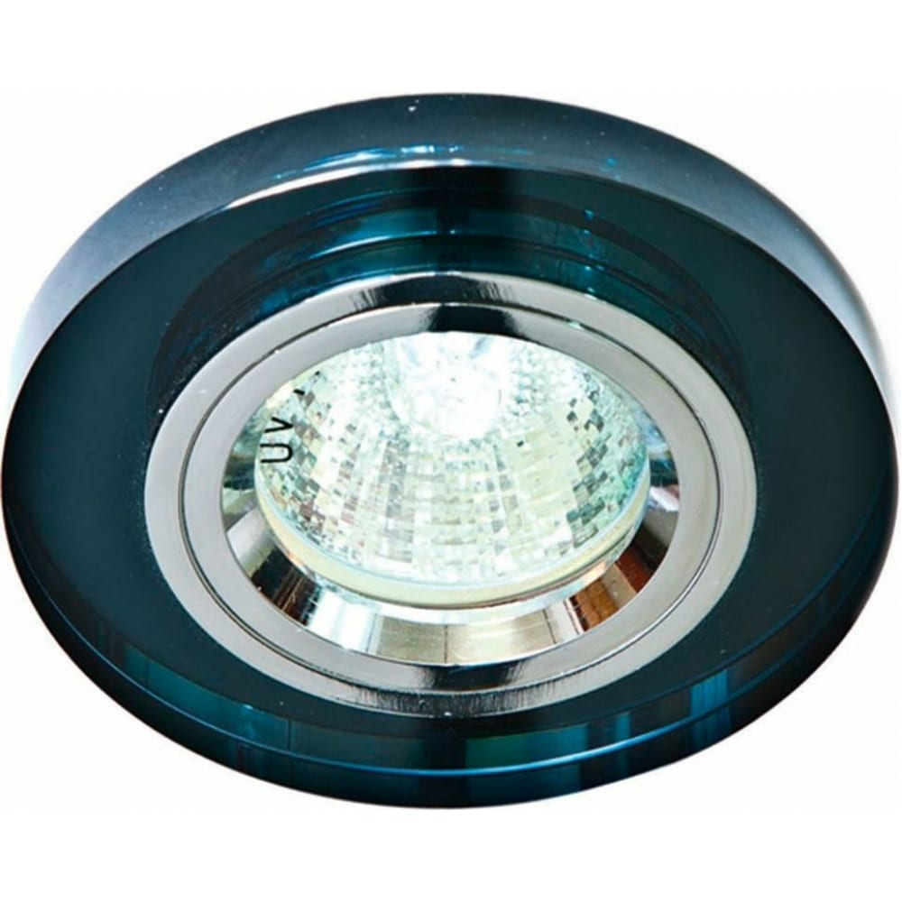 Купить Потолочный светильник feron mr16 g5.3 серый, серебро, 8060-2 19713