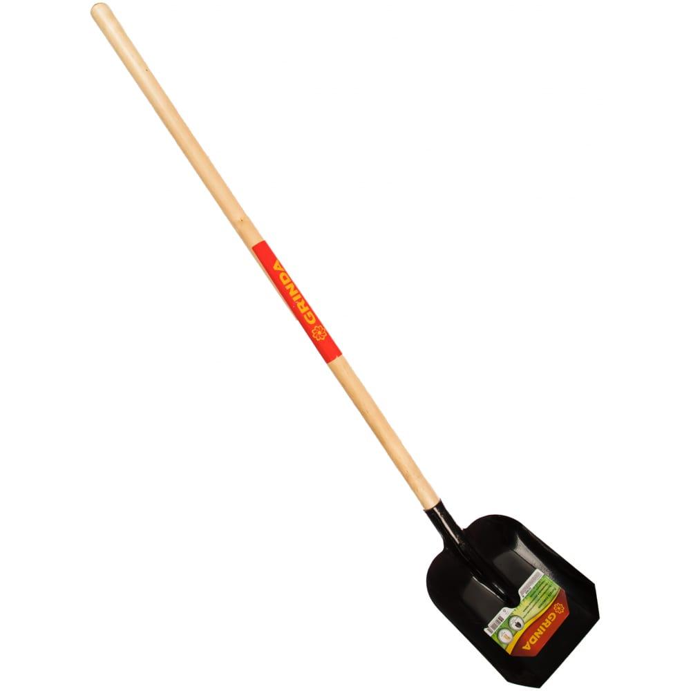 Совковая лопата, деревянный черенок grinda 421825_z01
