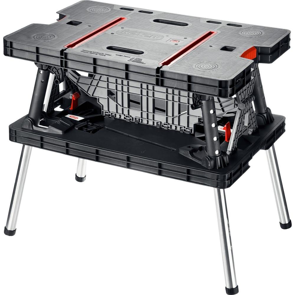Столярный складной верстак keter folding 38730