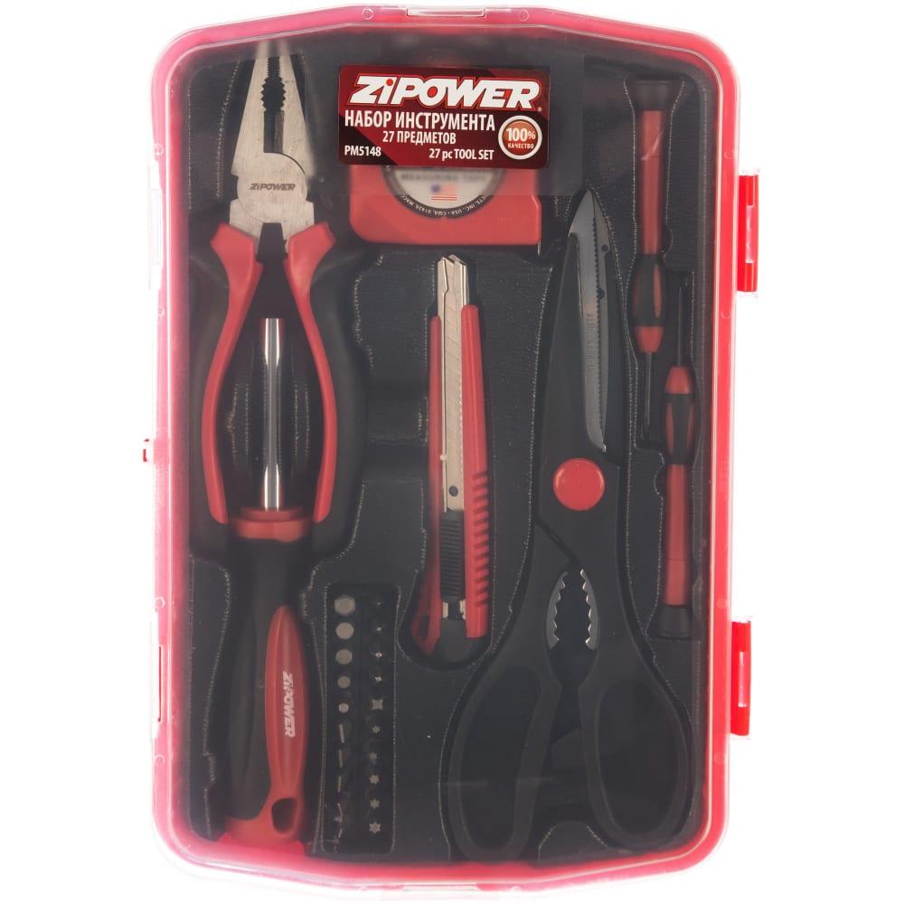 Набор инструмента zipower бытовой pm5148