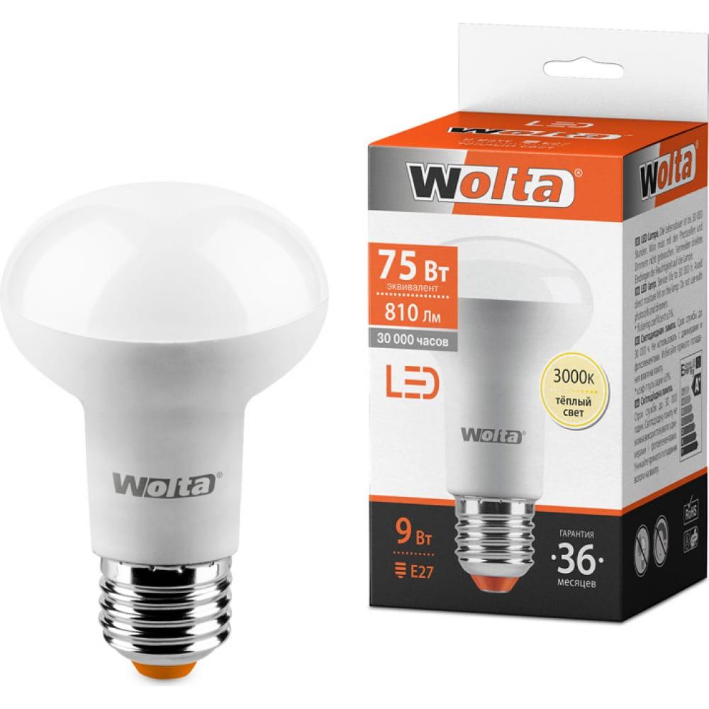 Лампа wolta led 25y63r9e27