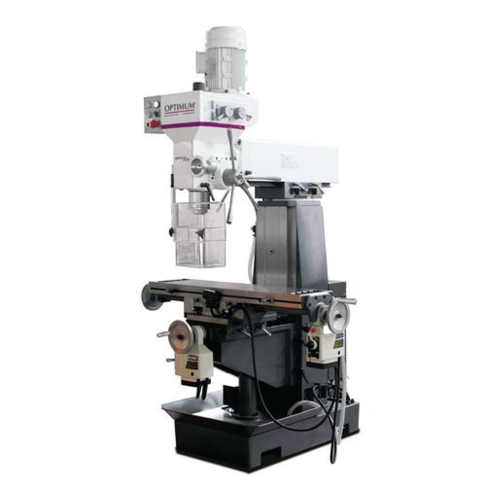 Вертикально-фрезерный станок optimum optimill mt50e d3336010