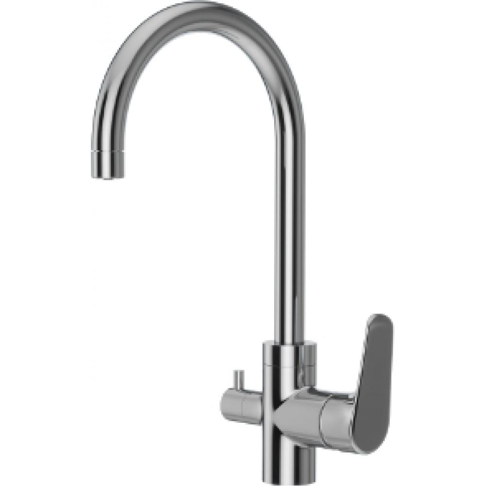 Смеситель для кухни redblu by damixa origin evo с каналом питьевой воды 820700000.