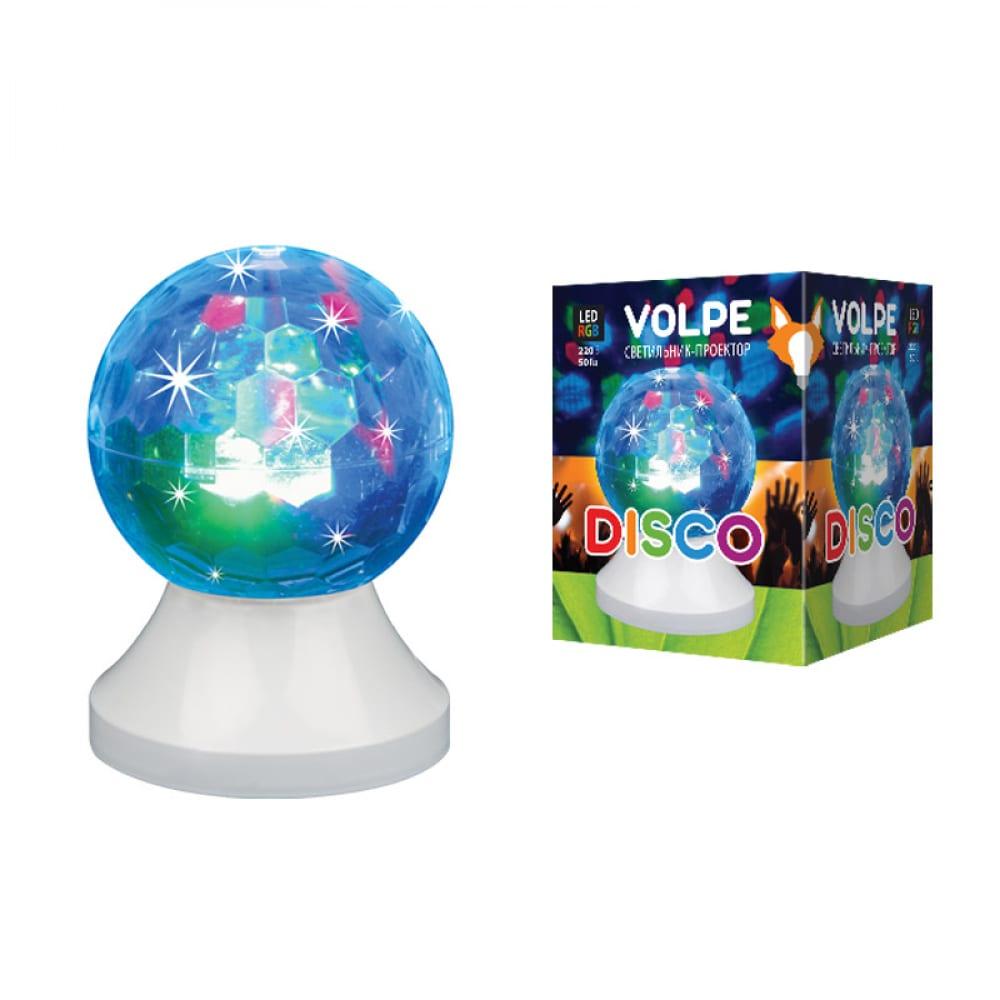 Купить Светодиодный светильник-проектор volpe uli-q311 3, 5w/rgb white. ul-00002764