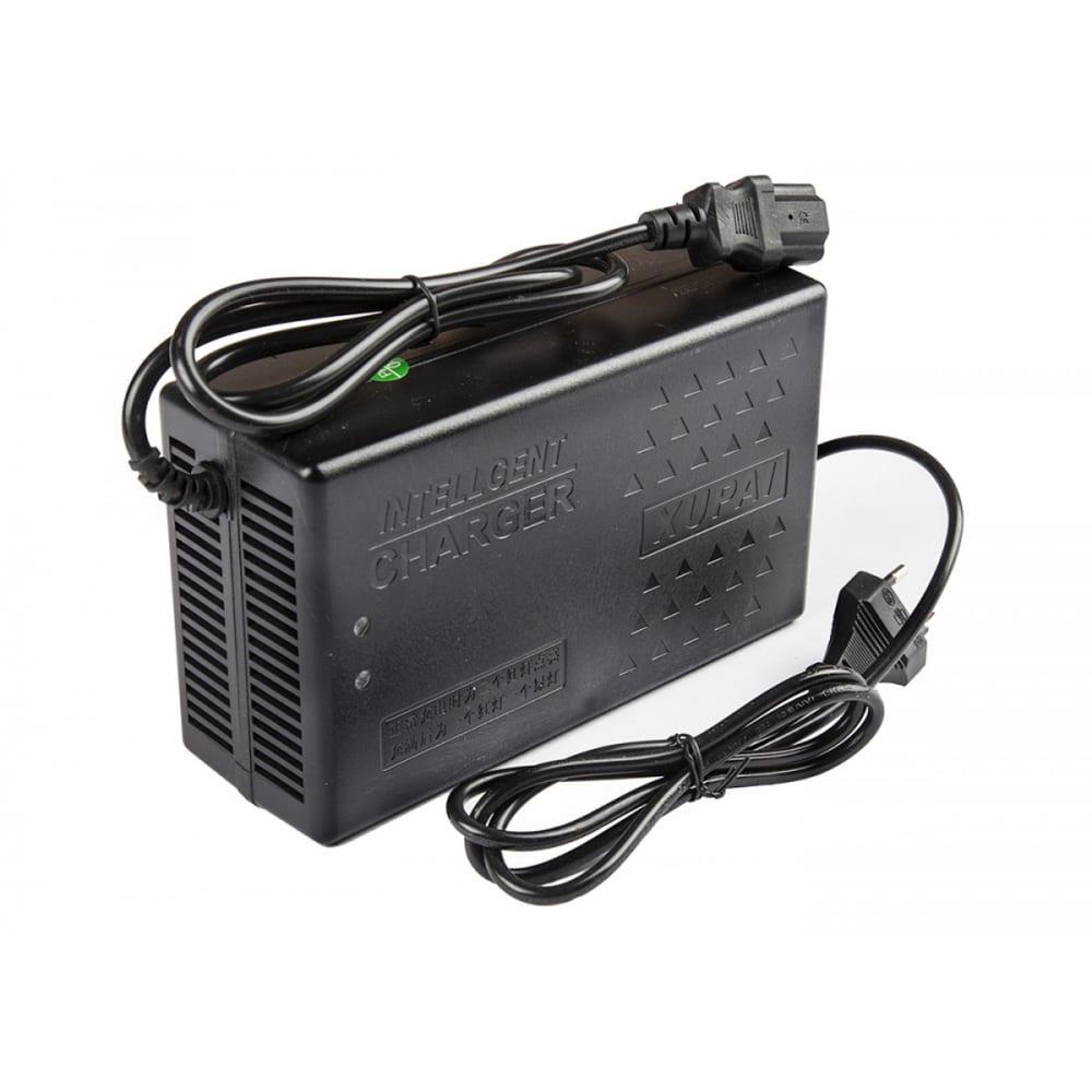 Зарядное устройство для свинцовых тяговых аккумуляторов rutrike 60v20a/h, 2,8a 021954