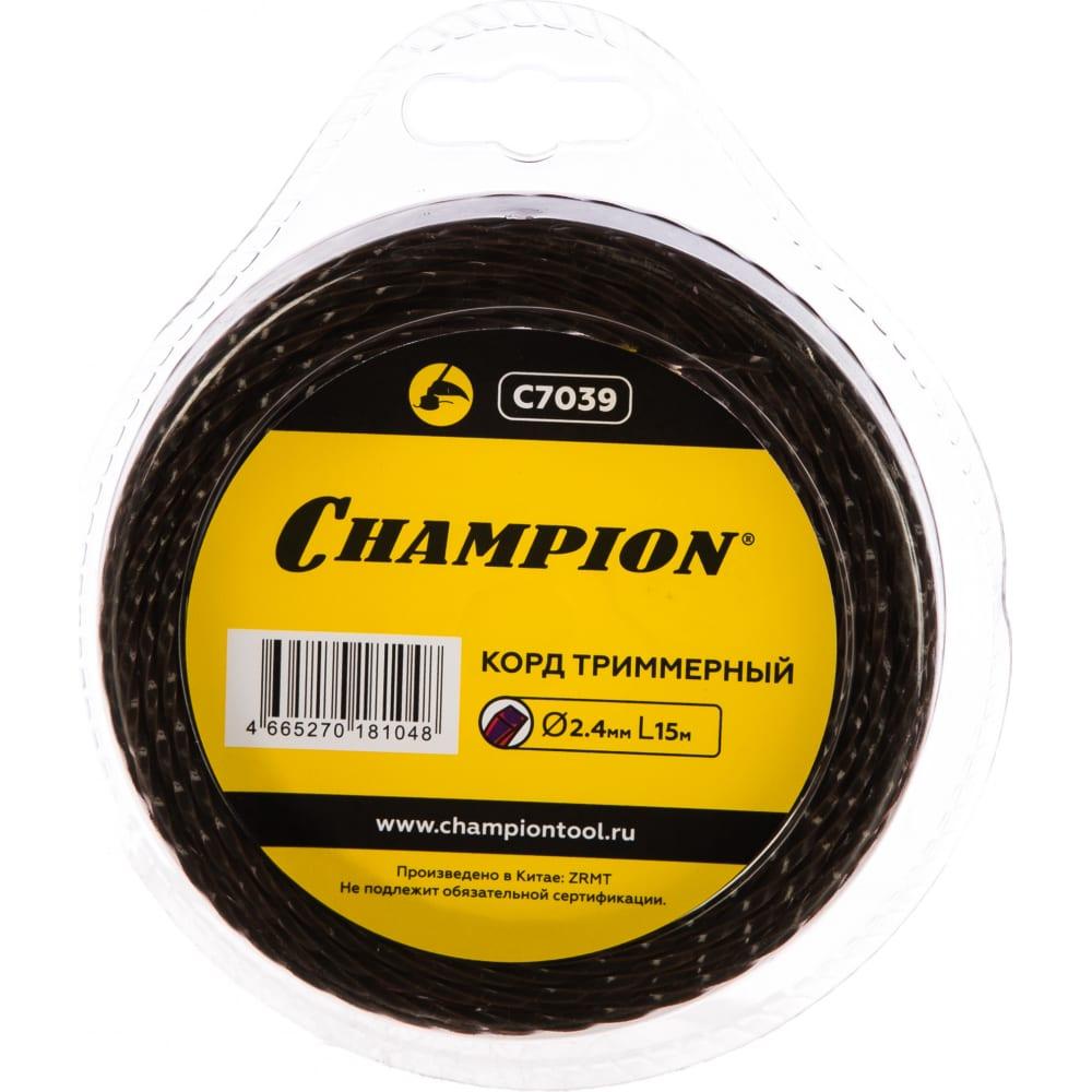 Купить Корд триммерный magic (2.4 мм, 15 м) champion c7039
