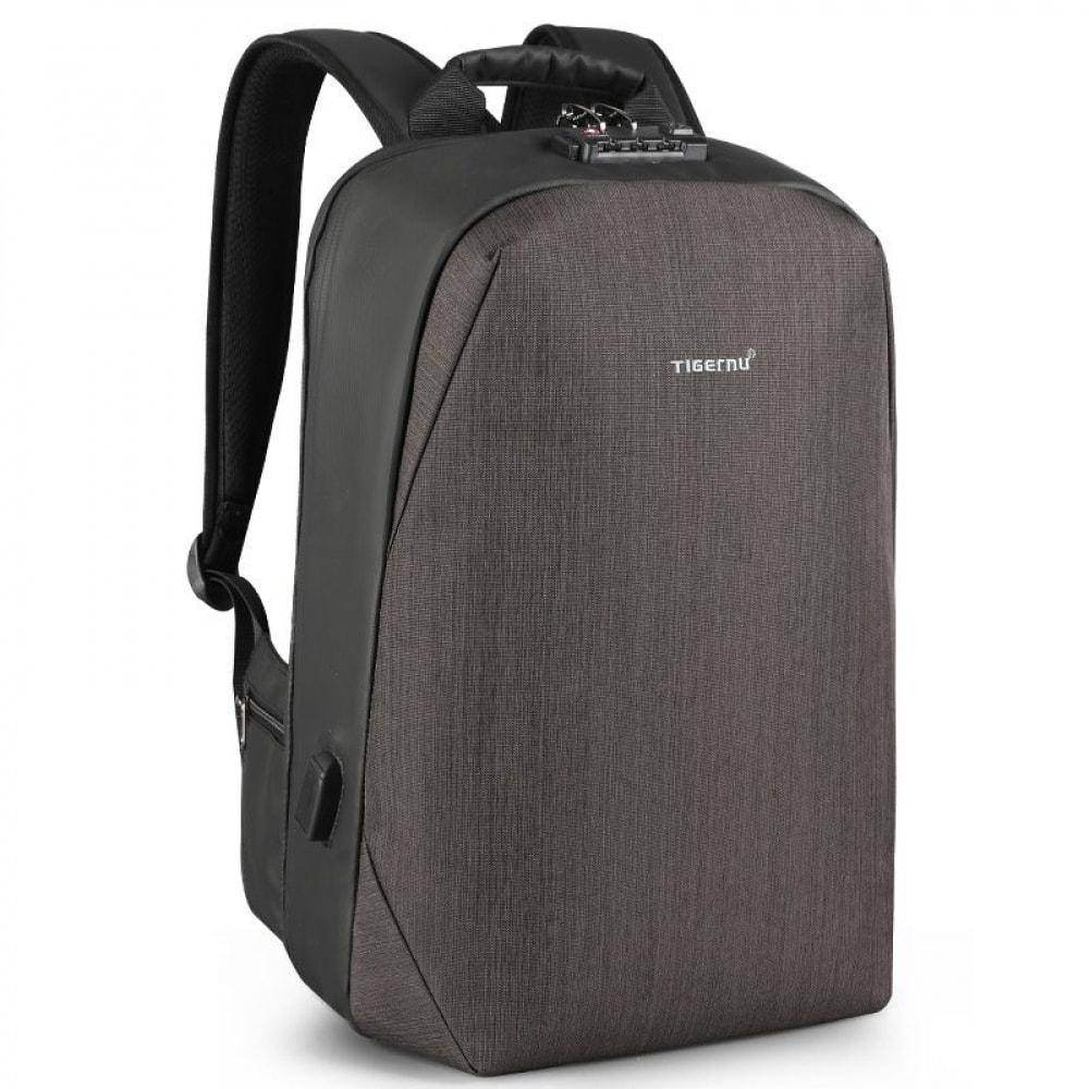Рюкзак tigernu t b3669 черно коричневый 60006