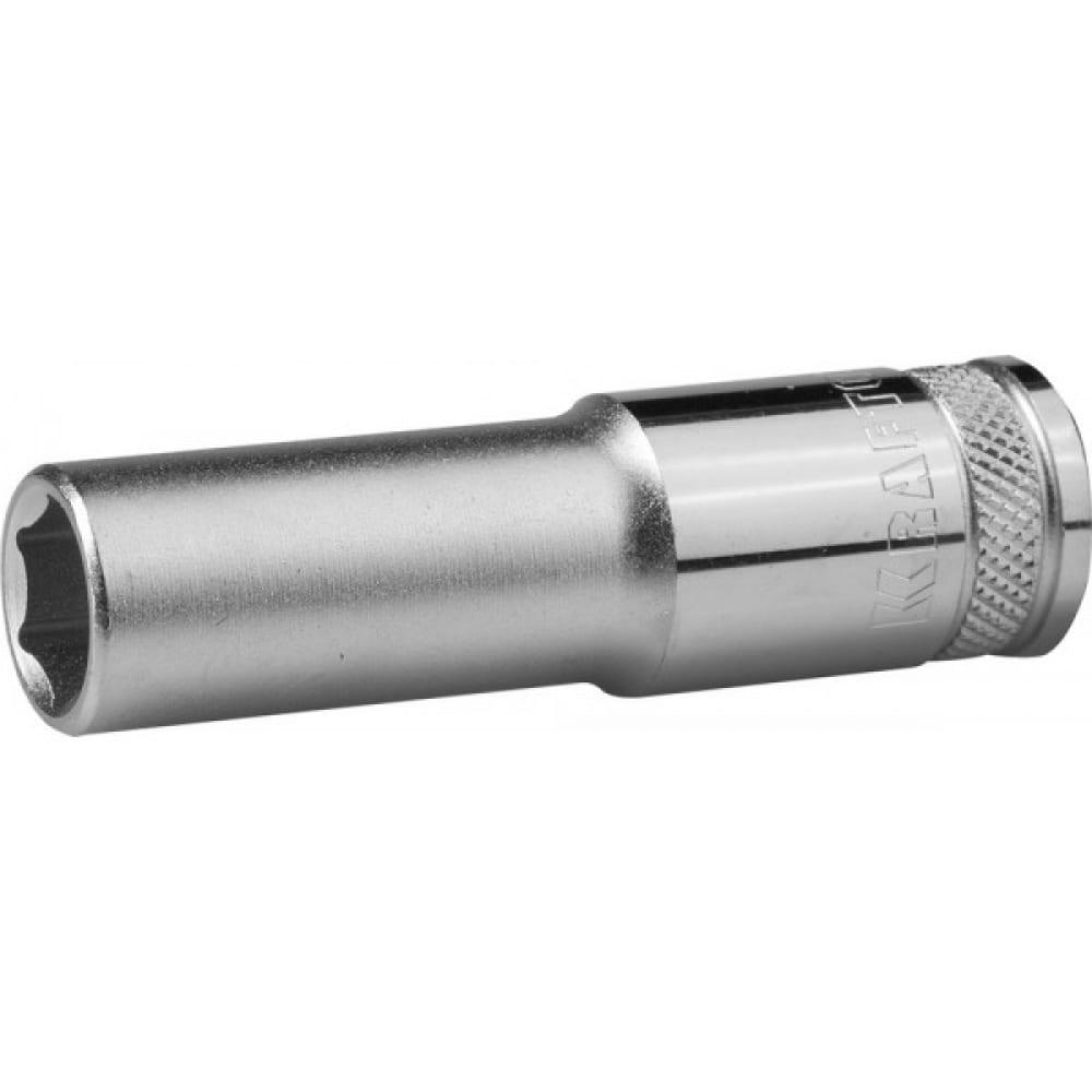Головка торцевая удлиненнаяindustrie qualitat (17 мм; 1/2; flank)kraftool 27807-17_z01.