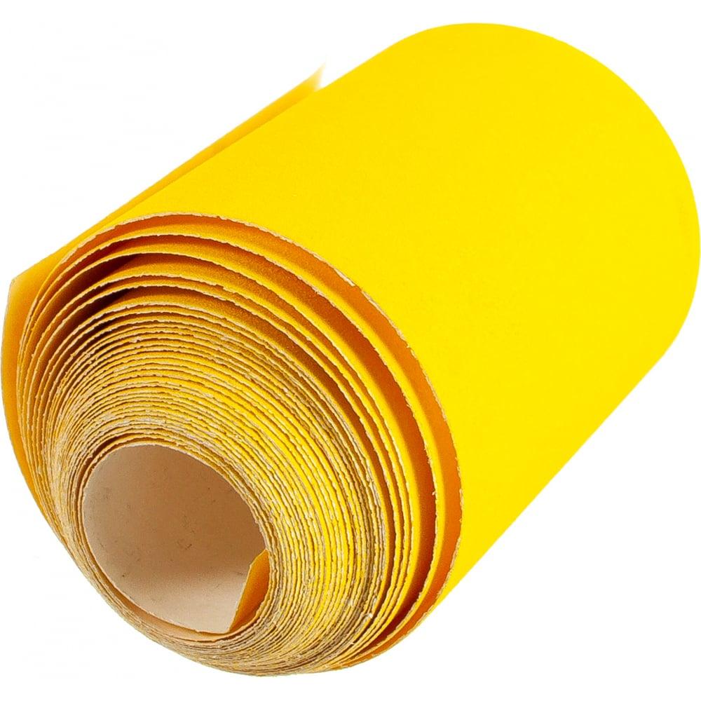 Шкурка шлифовальная на бумажной основеlp41c (100 мм х 5 м; р150)россия 75652