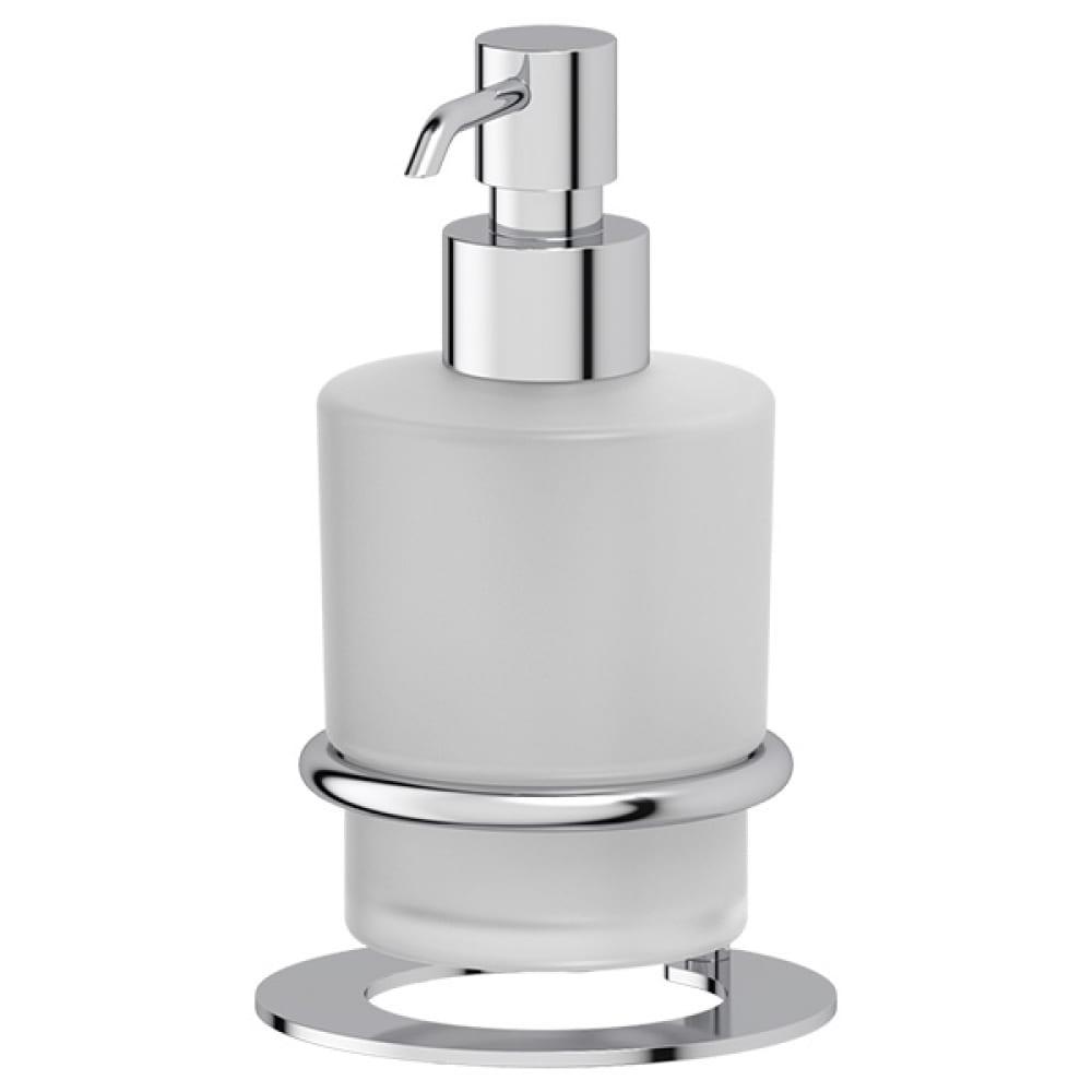Купить Настольный держатель с дозатором жидкого мыла artwelle матовое стекло; хром awe 003