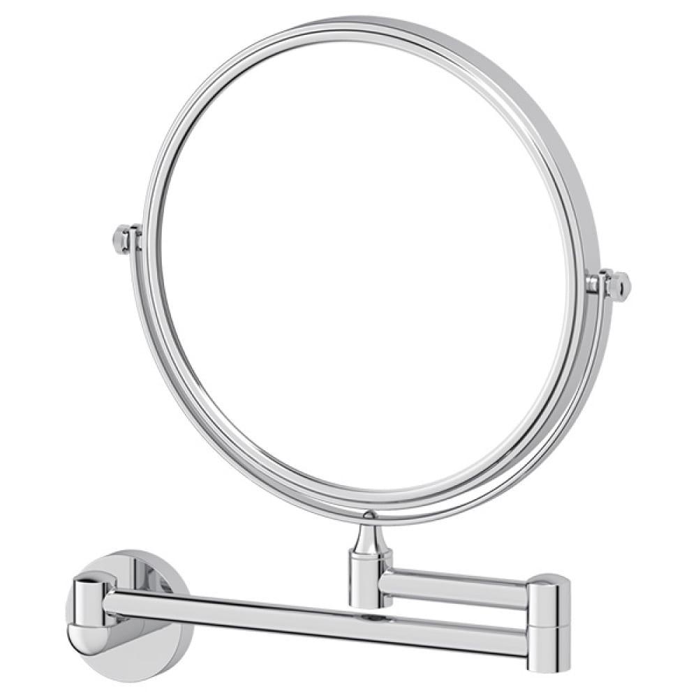 Косметическое двустороннее зеркало artwelle x2 хром