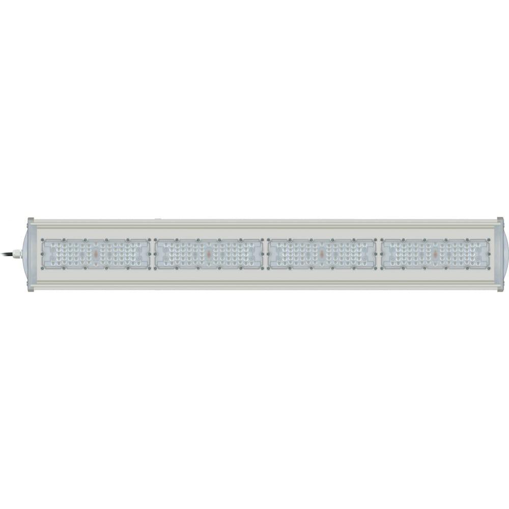 Светодиодный промышленный светильник uniel uly-u42c 200w/5000k ip65 silver ul-00004830.
