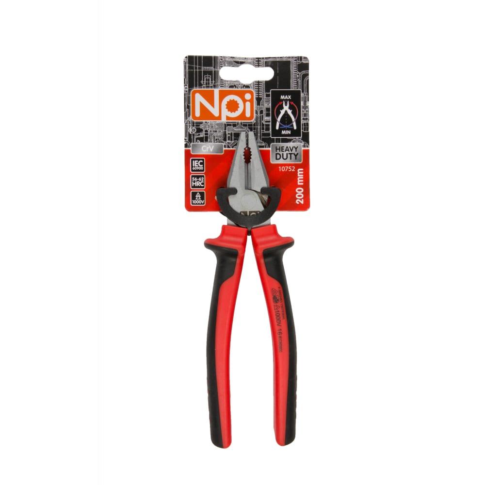 Купить Комбинированные электрозащищенные плоскогубцы 200мм npi highliverage 10752