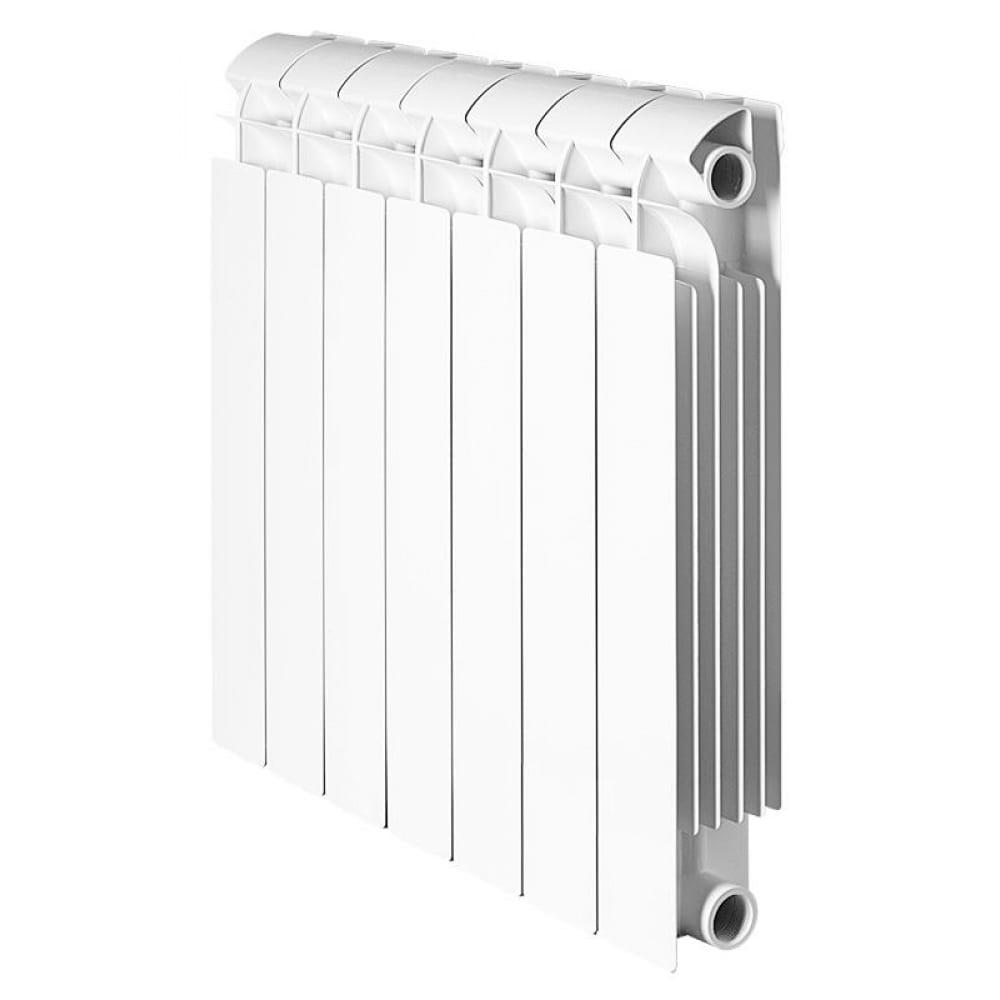 Биметаллический радиатор global style plus 500 10 секций боковое подключение ran30g1197drug.