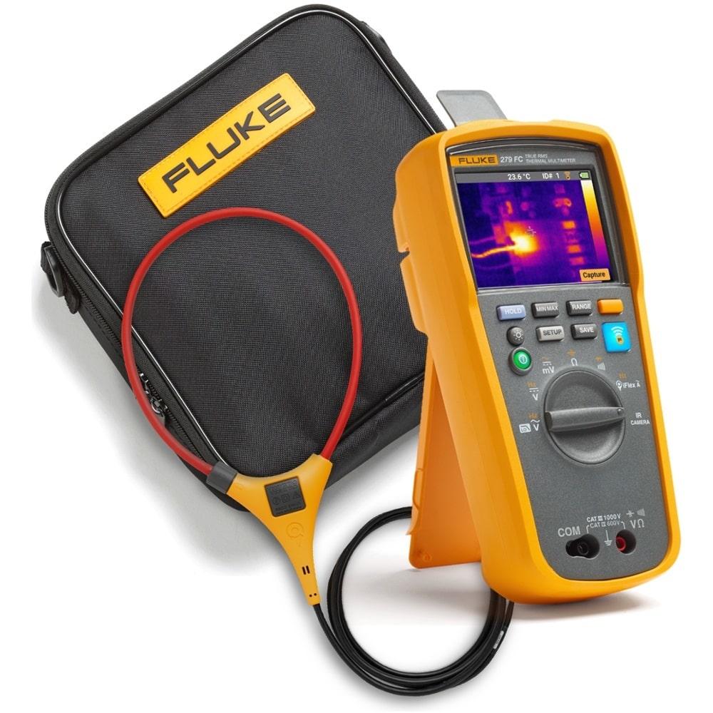 Купить Мультиметр-тепловизор fluke с гибкими клещами и футляром 279fc/iflex