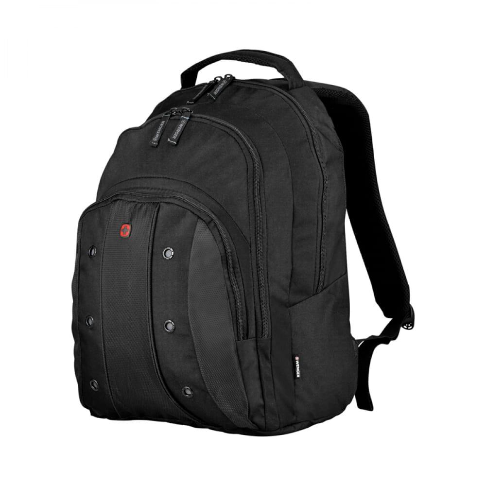 Купить Рюкзак wenger 16 , черный, 35x25x46 см, 25 л 64081001