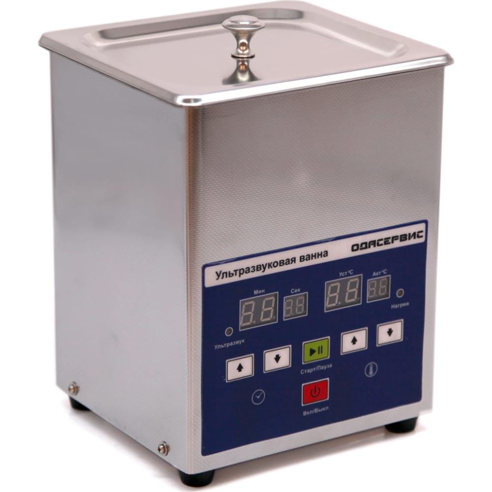 Ультразвуковая ванна с цифровым управлением и подогревом ода сервис 1.3 л oda-lq13