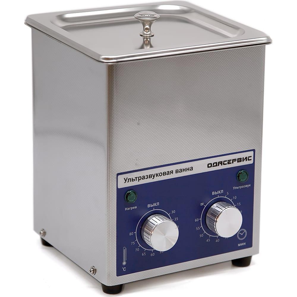 Ультразвуковая ванна с механическим таймером и подогревом ода сервис 1.3 л oda-mh13