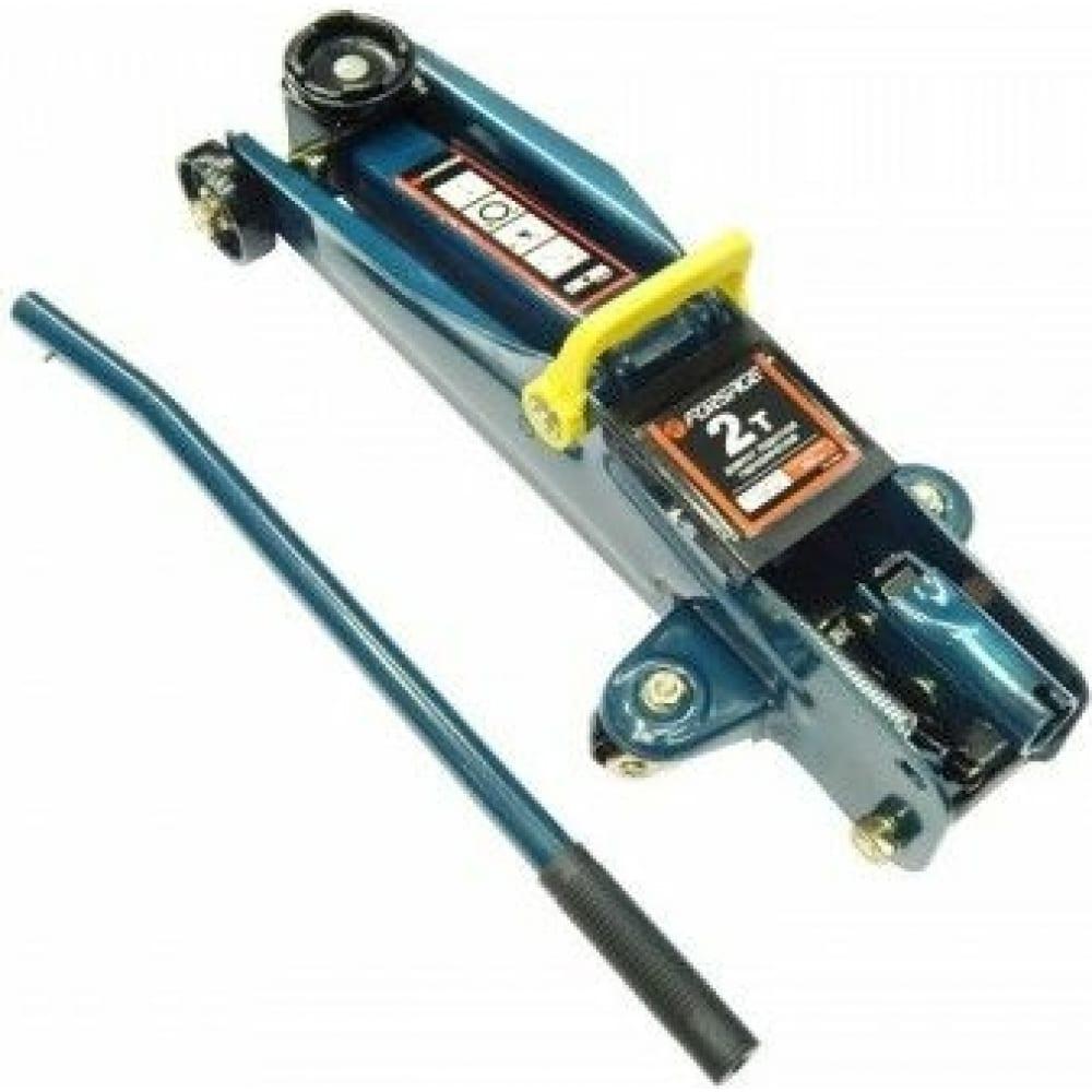 Купить Подкатной домкрат forsage 2т, h min 135 мм, h max 385 мм, в кейсе f-th22001c