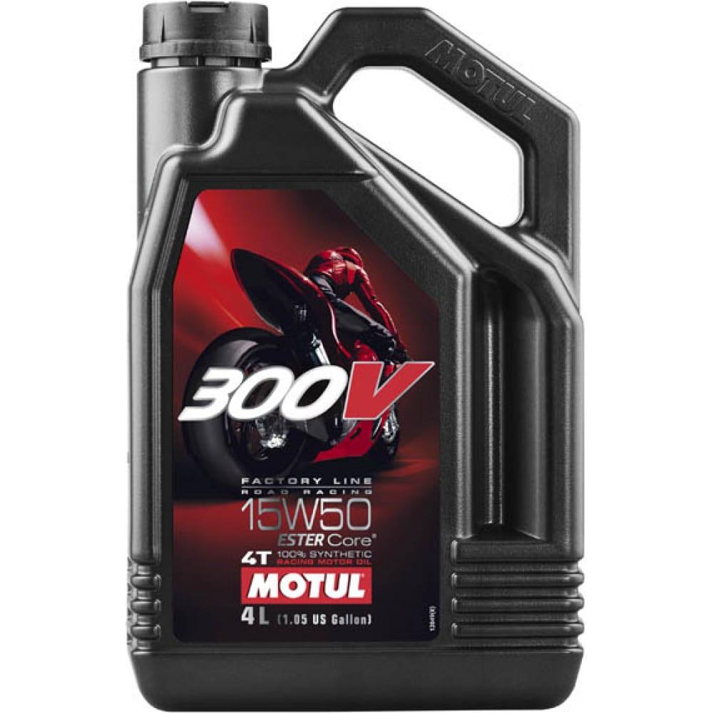 Моторное масло 300 v 4t fl road