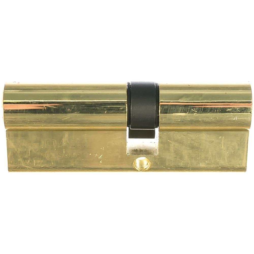 Цилиндровый механизм с перфо. ключ-ключ damx c45/35mm pb 000013383