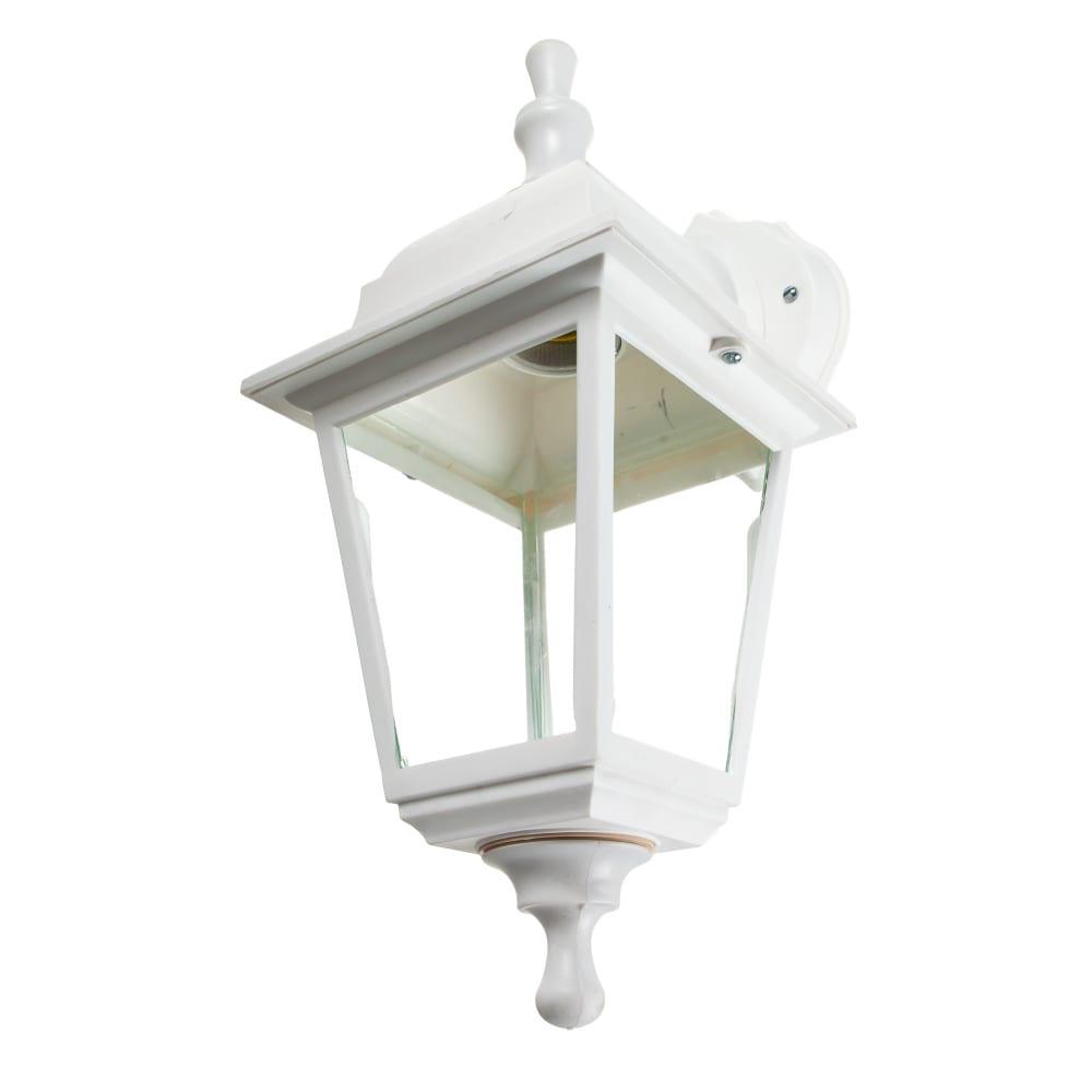 Садово-парковый светильник feron 60w 230v e27 белый нбу 04-60-001 32267.
