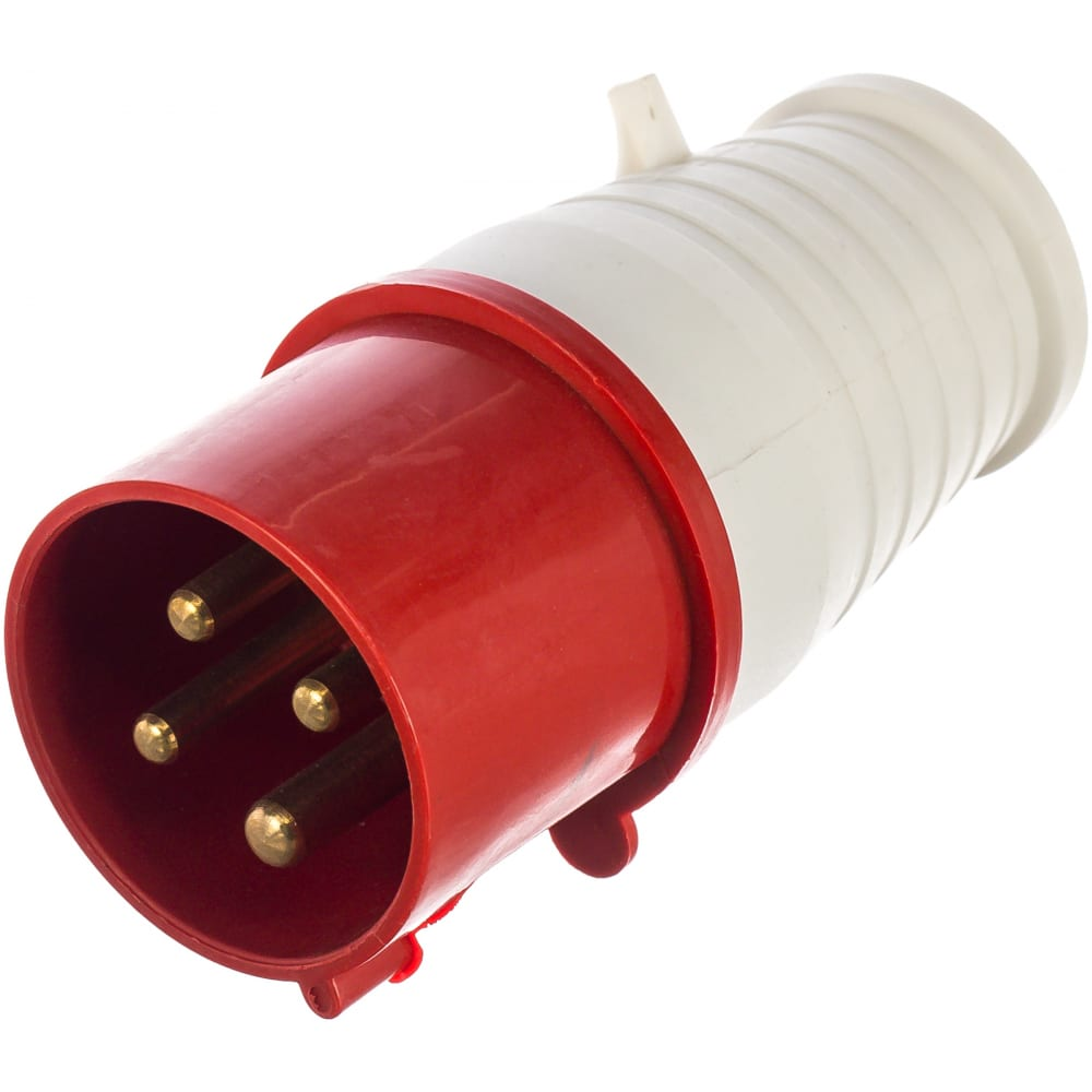 Прямая вилка stekker ppg32-41-441 для силовых кабелей сечением 25-6 мм2 4 pin 32879.