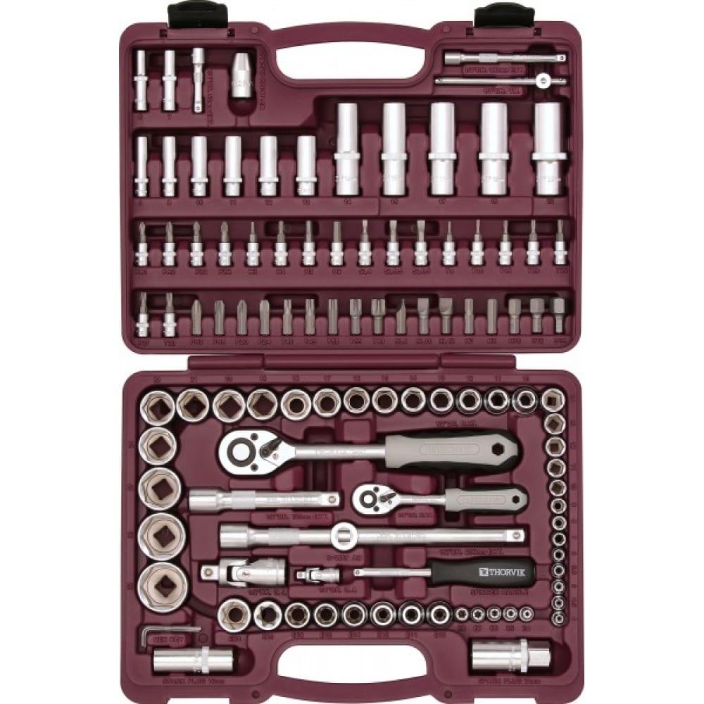 Универсальный набор инструмента 1/4 thorvik uts0108mp.