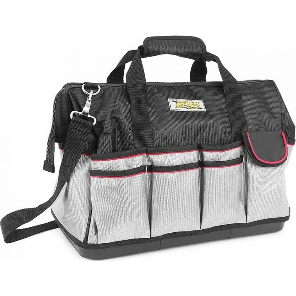 Сумка-саквояж для хранения и транспортировки инструментов messer gm-008 460x260x370 см 89-02-008