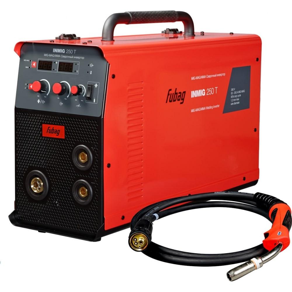 Сварочный полуавтомат инвертор fubag inmig 250 t 31436 + горелка fb 250 3 м 31436.1